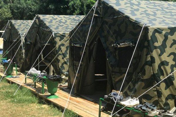 «Юнармеец» военно-патриотический палаточный лагерь!