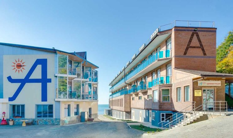 A-more Resort отель в Туапсе на берегу моря по Все Включено