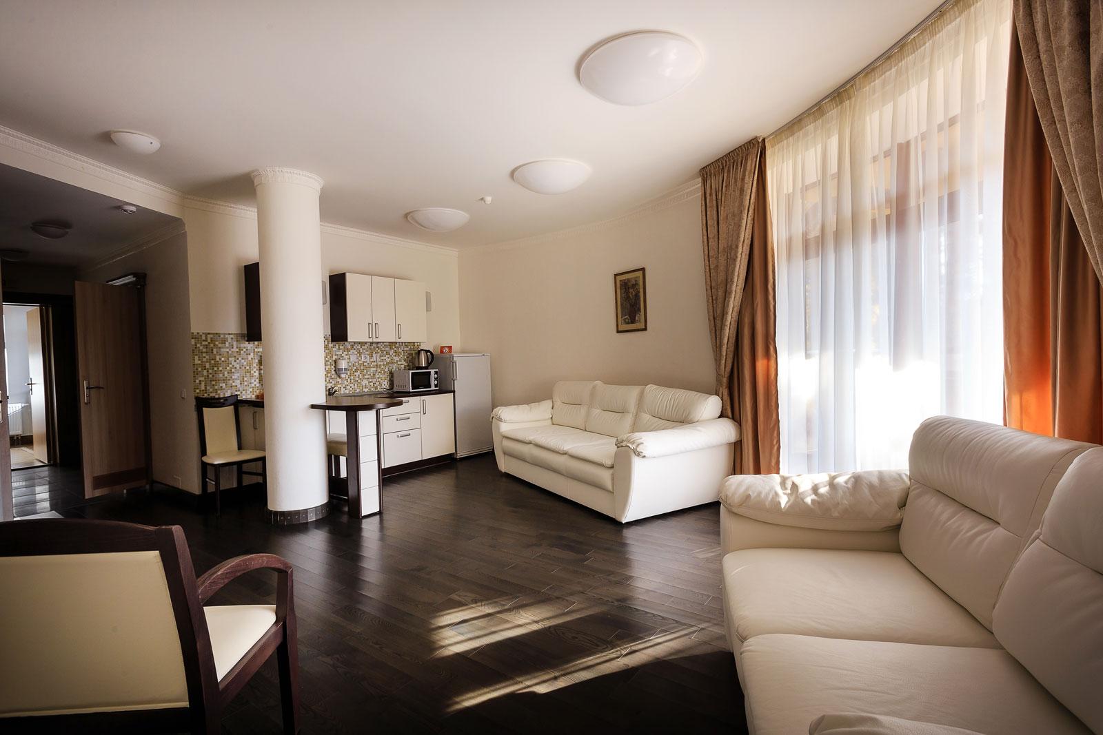 Апартаменты 3-местные 3-комнатные Suite корпус 7