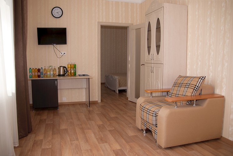 Люкс 1-местный 2 комнатный