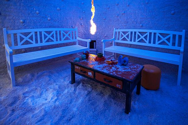 Соляная комната.Спелеотерапия