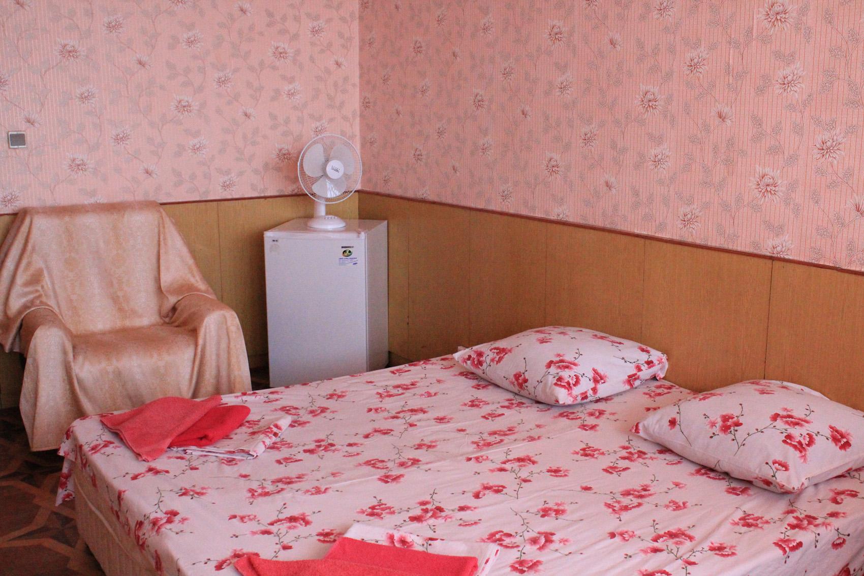 Стандартный 2-местный 1-комнатный, 1 категории (вид на море)