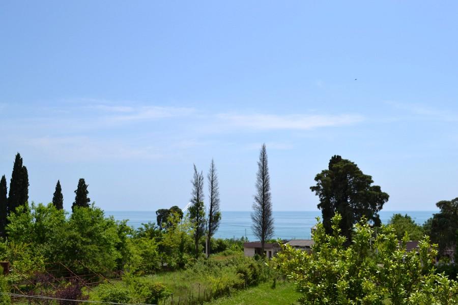 Вид на море с пансионата