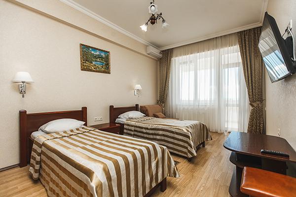 Стандарт 2-местный 1-комнатный с балконом корпус Б