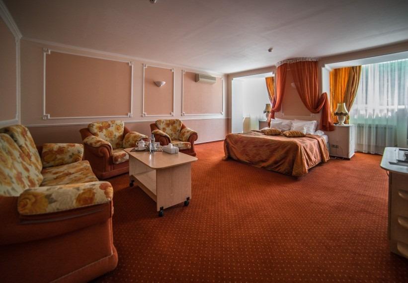 Люкс «Дуэт» 2-местный 1-комнатный