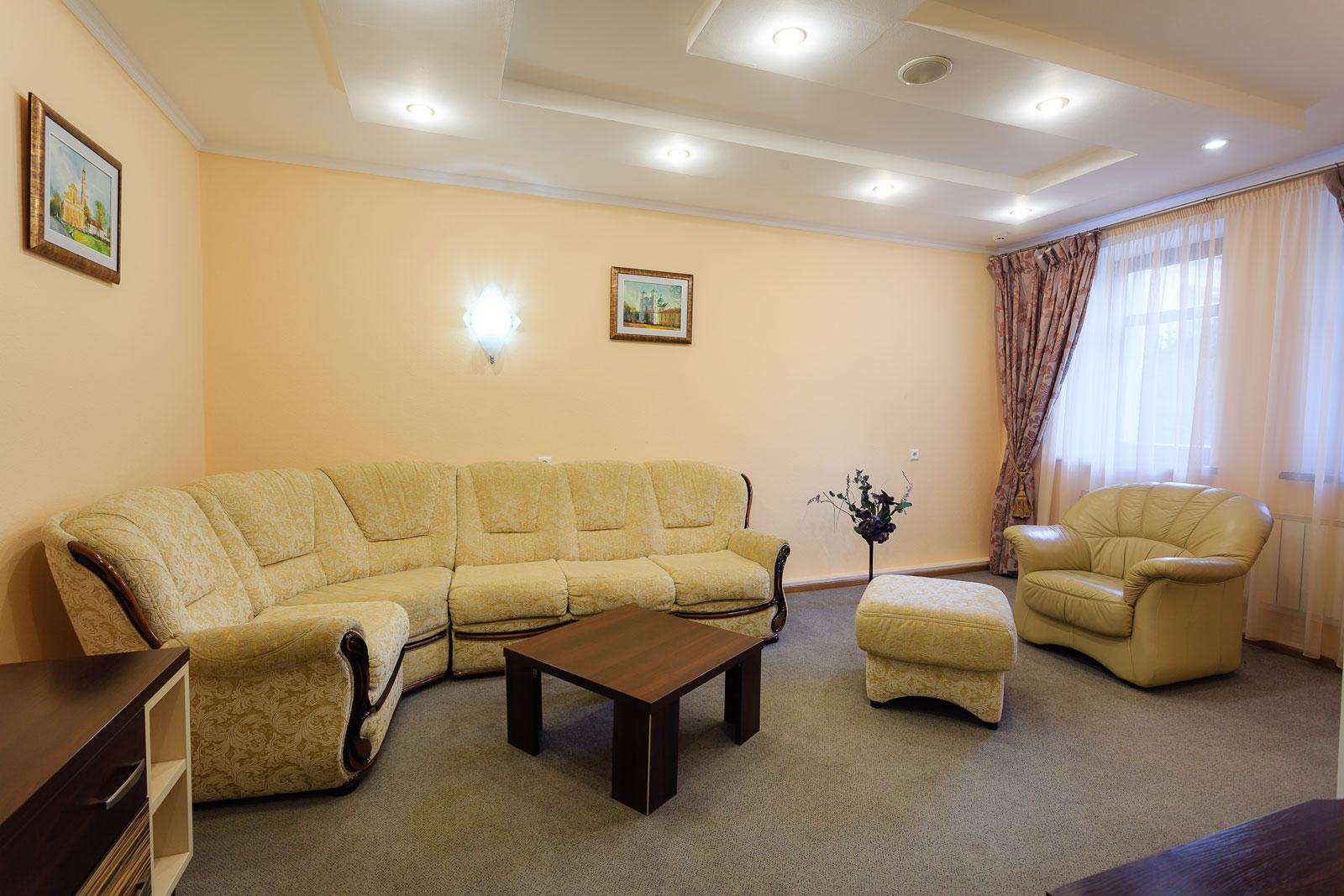 Апартаменты 2-местные 2-комнатные Апартаменты/Luxe корпус 5, 6