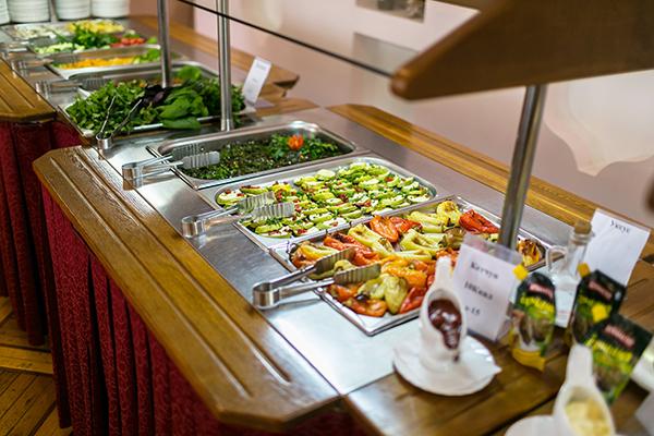 Зал питания. Шведская линия