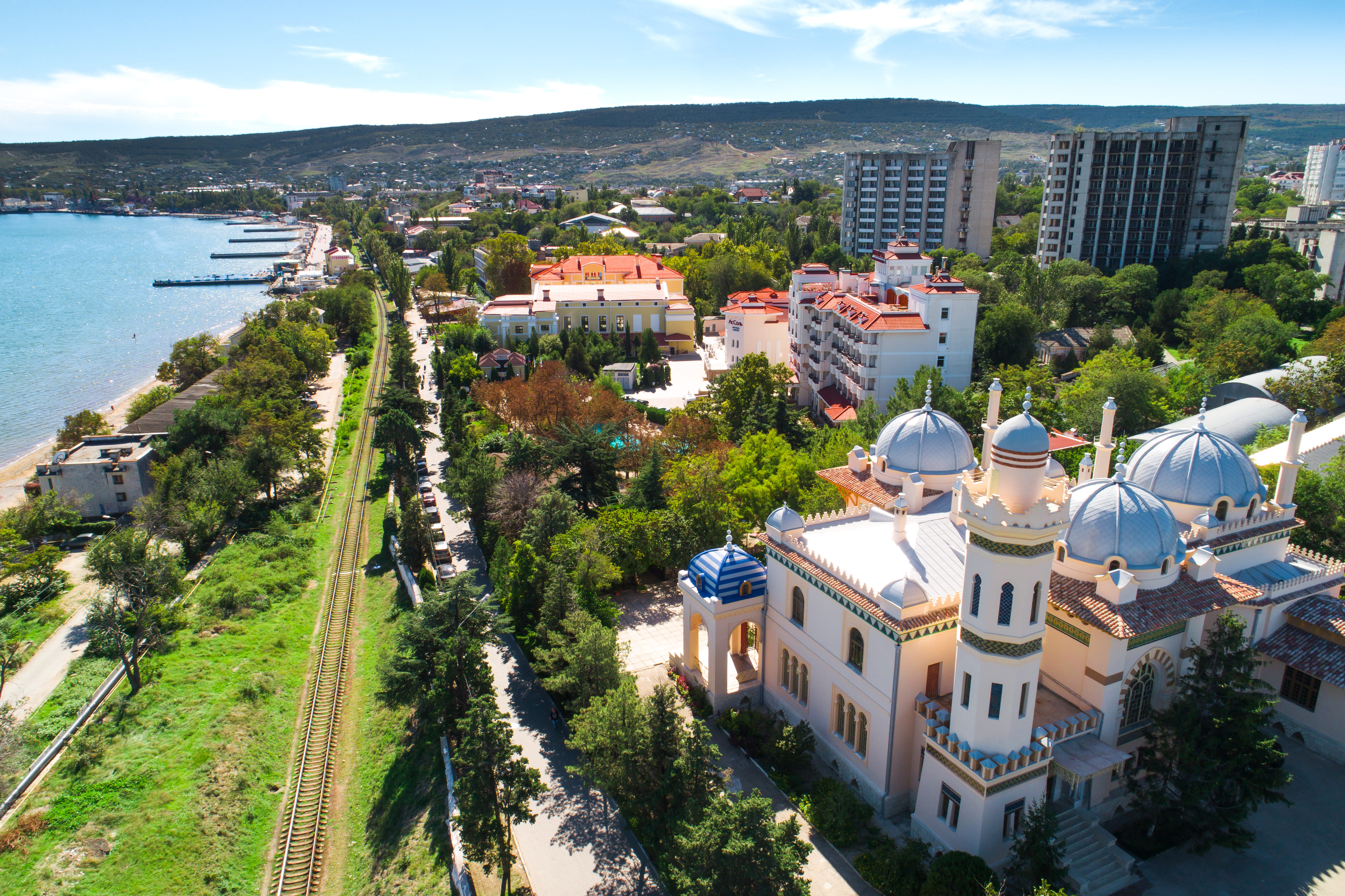 фото города феодосия крым создания такой передвижной