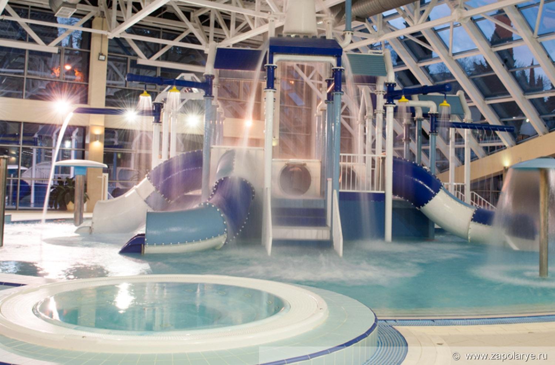 Детский крытый бассейн