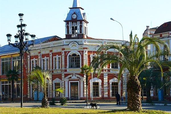 Центр города Гудаута