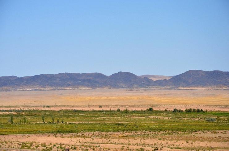 пустыня Кызылку?м