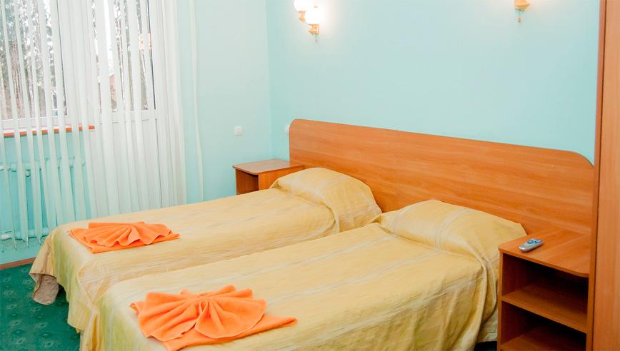 Стандарт 2-местный 1-комнатный в корпусе №1