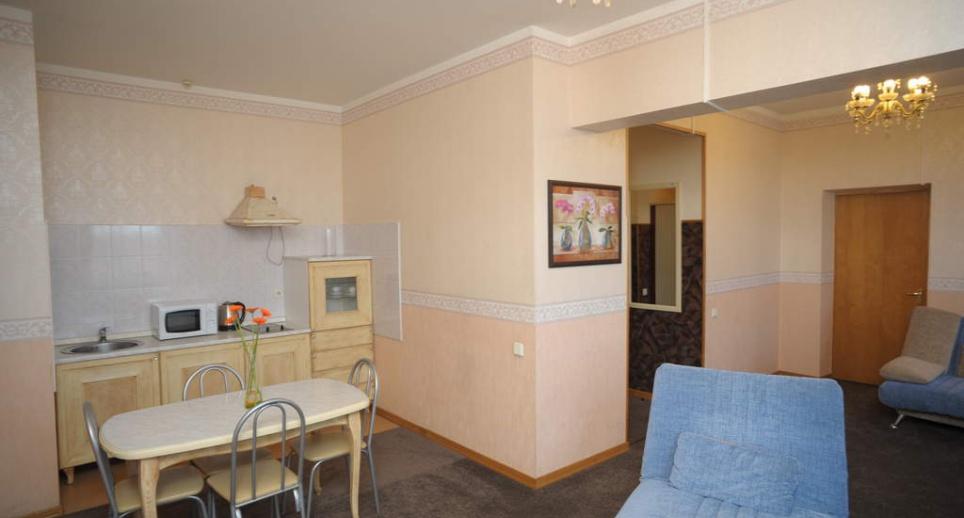 Комфорт-апартаменты 2-мест 2-комнт с кухней