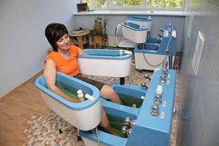 Четырехкамерная ванна