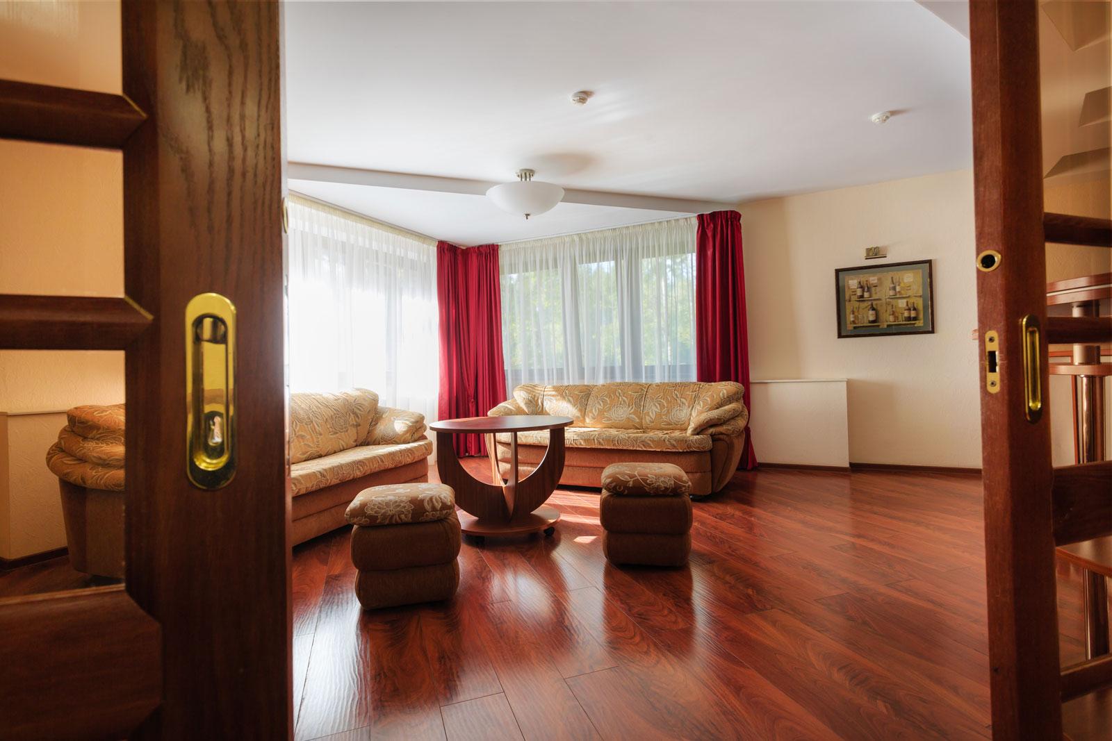 Апартаменты 2-местные 2-комнатные Апартаменты корпус 1, 2, 3