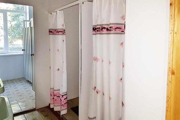 душ на этаже