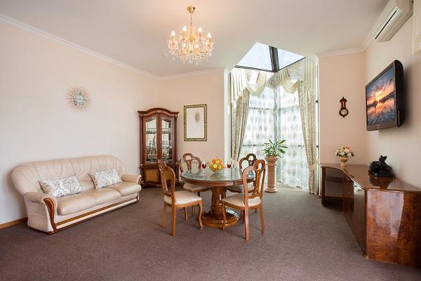 Апартамент 2-местный 3-комнатный