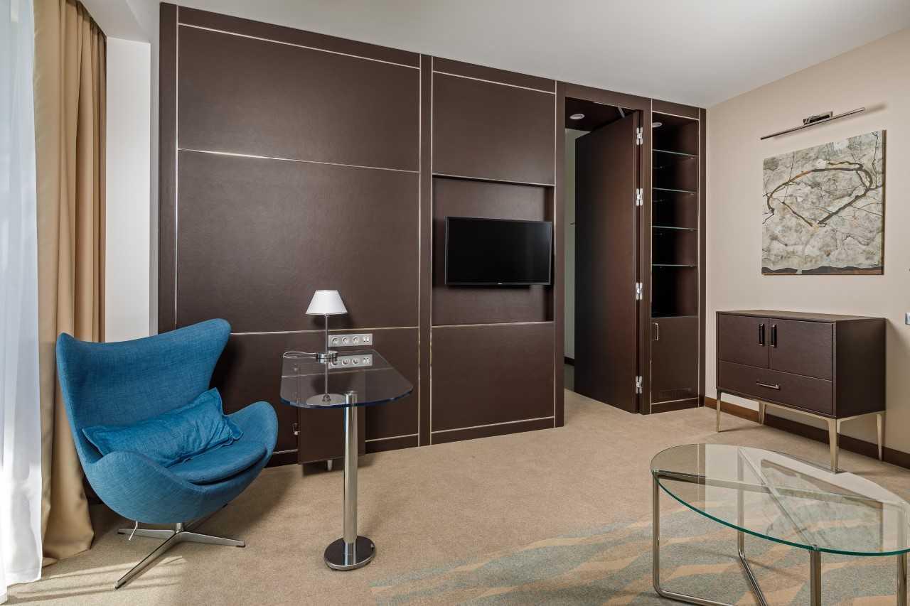 Люкс 2-местный 2-комнатный premium корпус № 1 (4*)