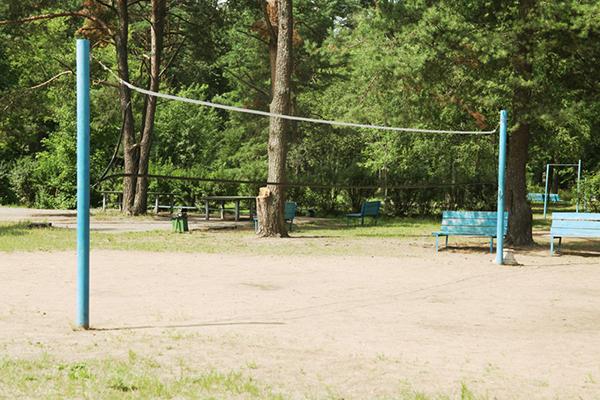 Открытая площадка для волейбла