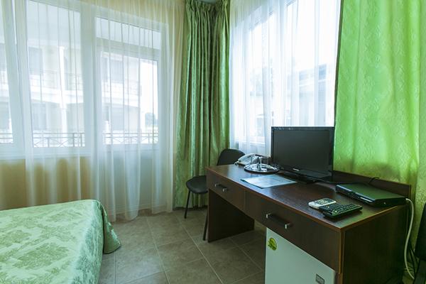 Стандарт 2-местный 1-комнатный (в 3-этажных корпусах № 1,2)