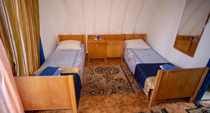 Домик 3-местный 1-комнатный «Бочка»