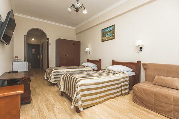 Стандарт 2-местный 1-комнатный с балконом корпус Б 2