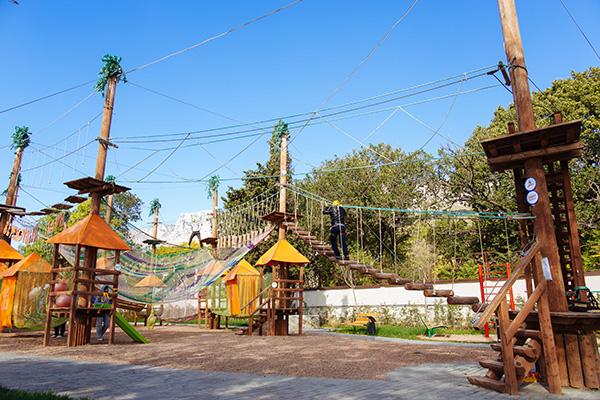 Детский клуб. Веревочный парк