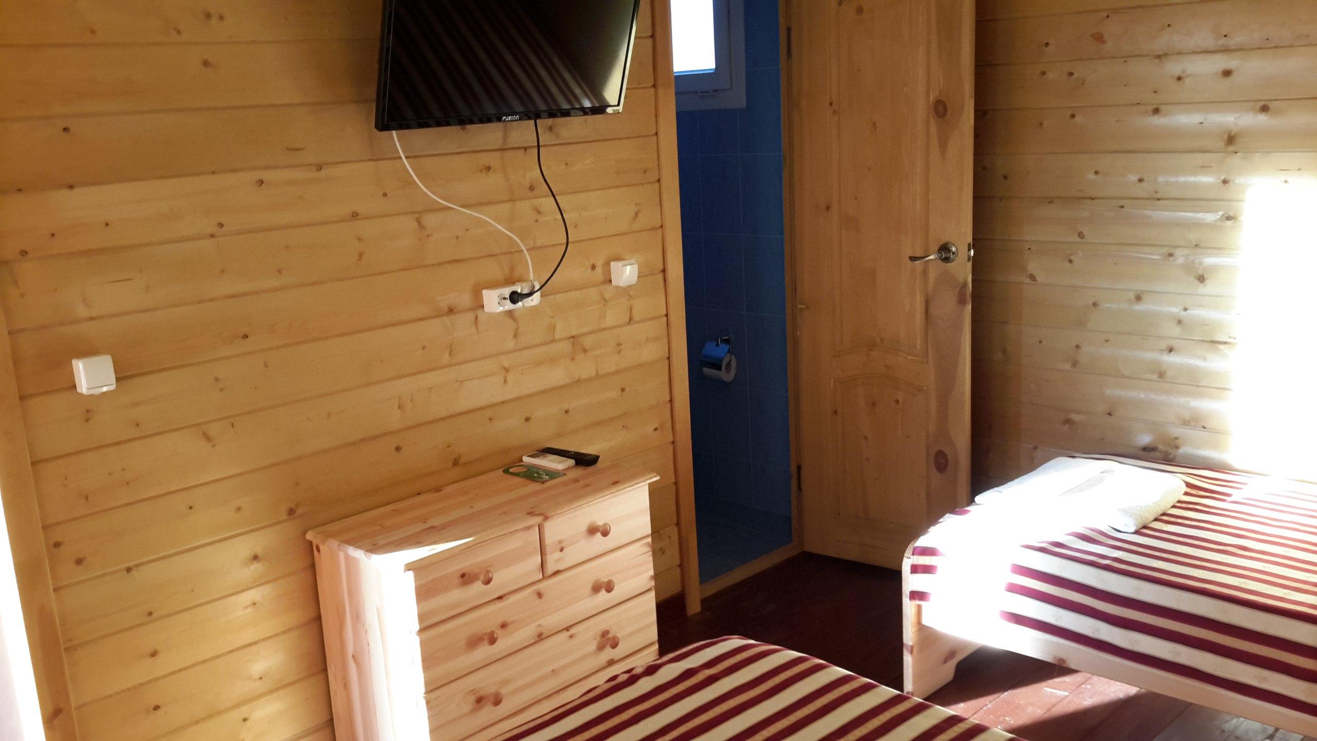 Стандарт 2-местный 1-комнатный (в 1-этажном коттедже)