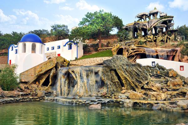 Водопад Сан-Торини