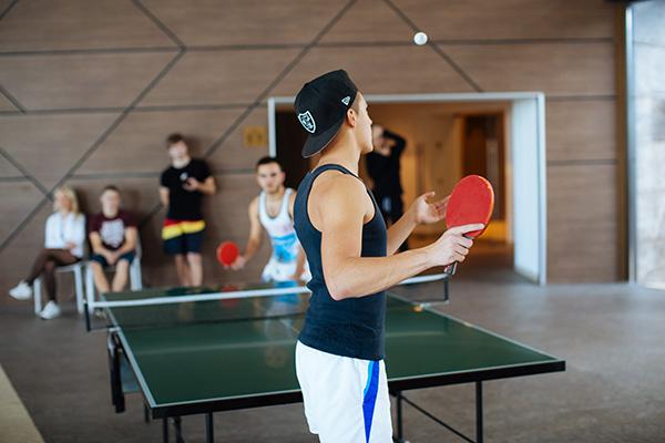 Спорт. Настольный теннис