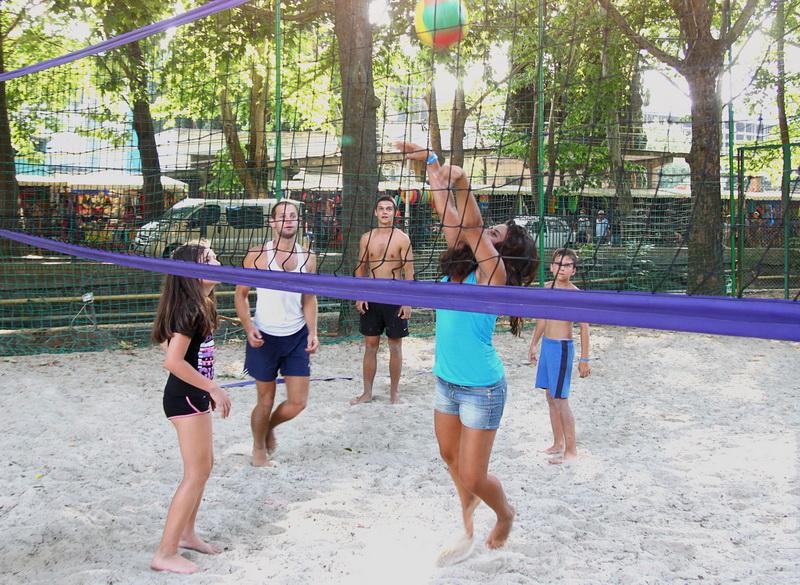 Спортплощадка для волейбола