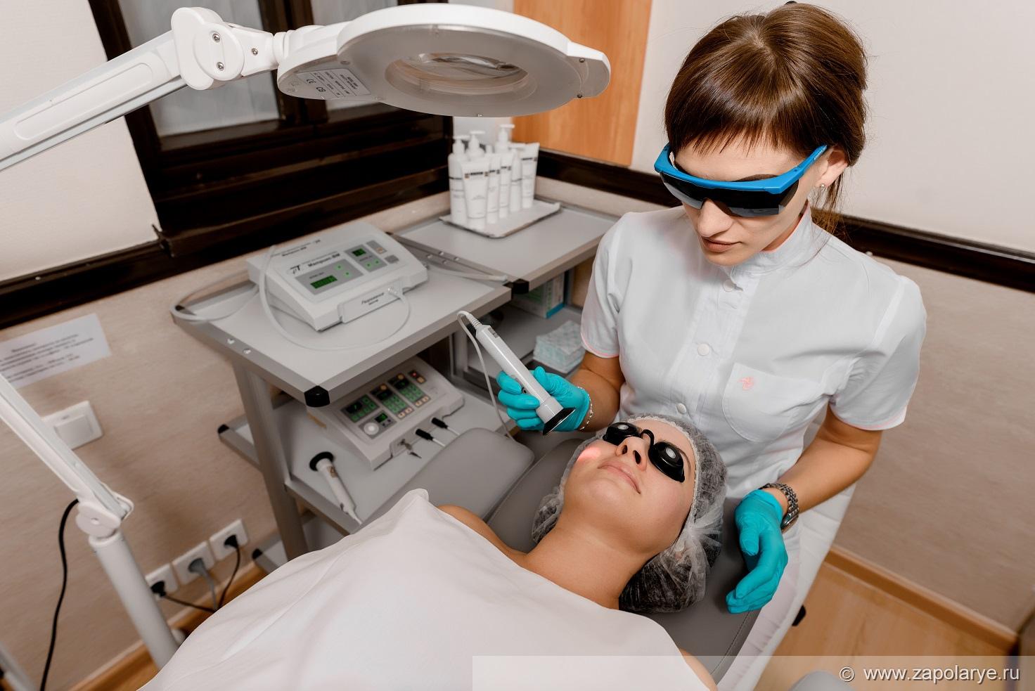 Медуслуги Лазерная терапия