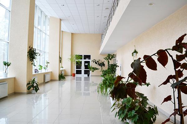 Холл санатория