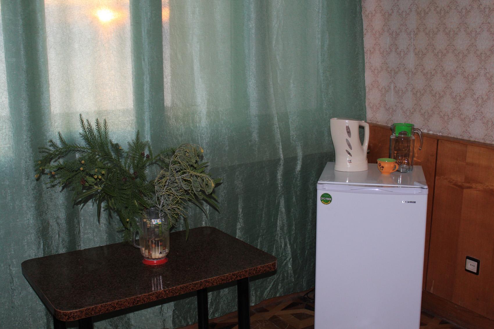 Стандарт 1-местный 1-комнатный (вид на море)
