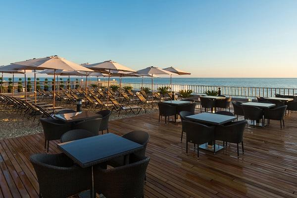 Hyatt-Regency-Sochi-Beach-Day-Time-Sea-view