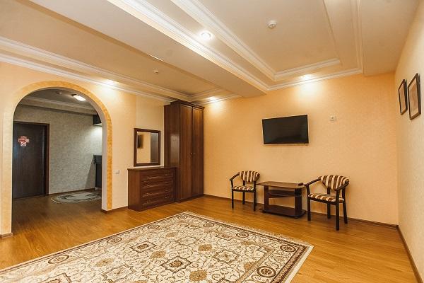 Апартамент 2-местный 3-комнатный(корп Б) 5