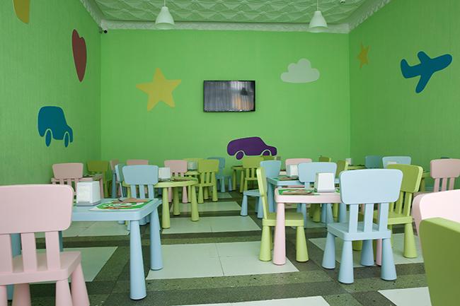 Основной ресторан «Biarritz». Детский зал.