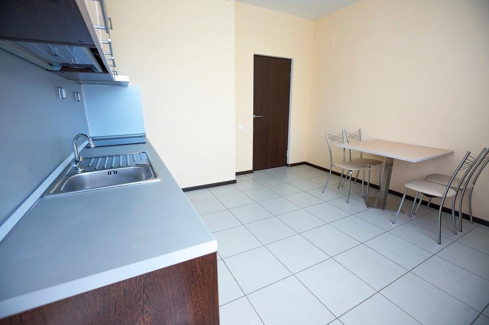 Апартаменты 2-местный 1-комнатный с кухней