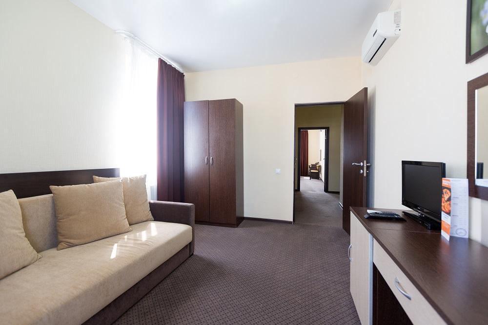 Апартаменты 2-местный 2-комнатный с кухней
