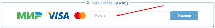 Форма для ввода счета на главной странице